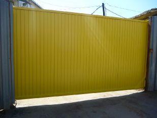 Откатные ворота_4