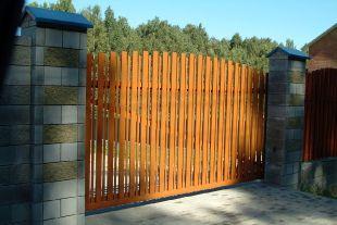 Откатные ворота_3