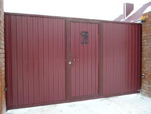 Откатные ворота_6
